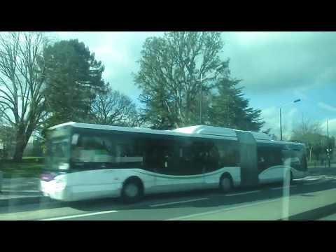 Volvo 7000A CNG ZF #222   Ligne C6 déviée   Réseau TAN de Nantes