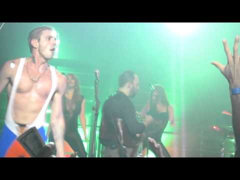 Filthy / Gorgeous Jake Shears Stage Dives into NYC crowd at Terminal 5
