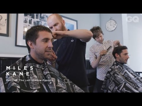 Miles Kane & British GQ At Gents of London Barbershop - Short Edit