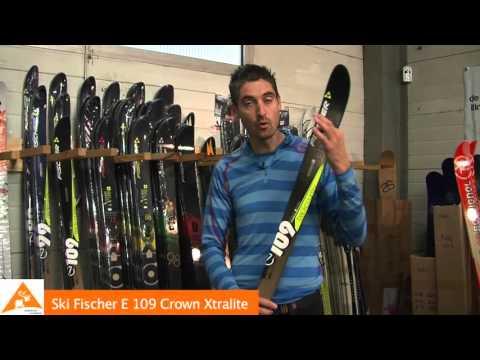Skis Fischer E109 Crown Xtralite