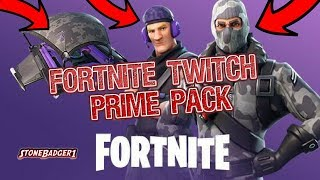How To Get The Fortnite Twitch Prime Pack - 50 Abonnés Spécial - Fortnite Battle Royale