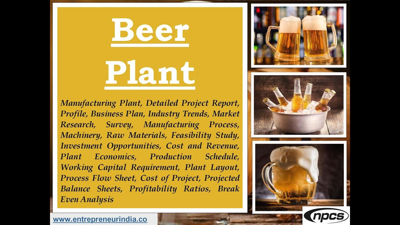 Start A Beer Brewery Business Production Of Beer Brewery Business