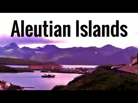 Aleutian Islands, Alaska - natural lanscape and wildlife
