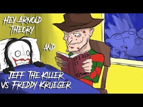 BAD CREEPYPASTAS  - 'Hey Arnold Theory' &' Jeff vs Freddy Krueger'
