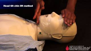 CPR Training Video - How to Open the Airway