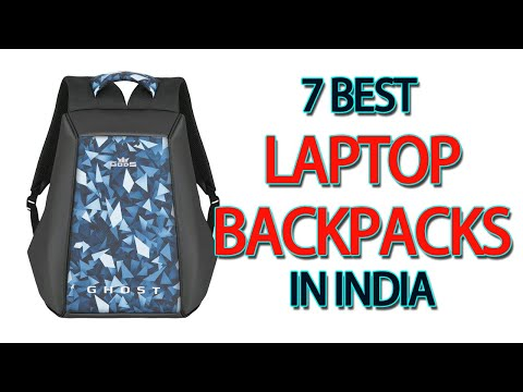 7 Best Laptop Backpacks In India 2020