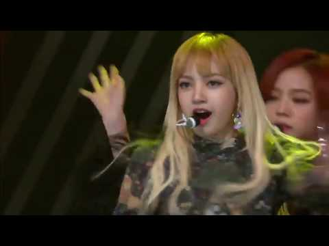 161116 - BLACK PINK - Whistle And Playing With Fire (AAA Asia Artist Awards)