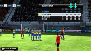 FIFA 12 : Freekick Tutorial ( How To Score )