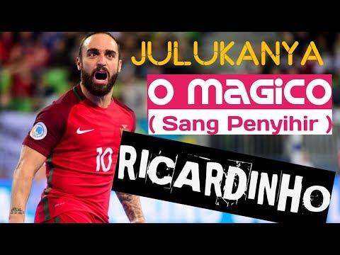 RICARDINHO ● Magic skill and trick,Sang Penyihir lapangan futsal