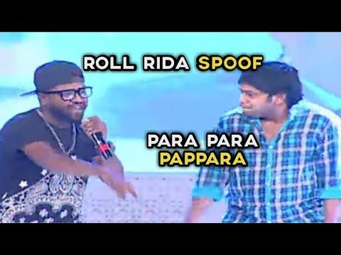 Para para para pappara , roll rida spoof,para para pappara song, roll rida comedy spoof ,biggboss2