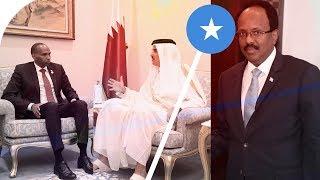 Wararkii ugu Danbeeyey Shir Albaabadu uxidhanyihiin R/Wasaare Khayre & Amiirka Qatar