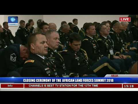 Buratai,Olonishakin,Lebeuf Charge Officers On Terrorism Fight Pt 2 | African Land Forces Summit |