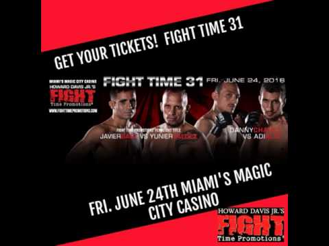 Fight Time 31 June 24th