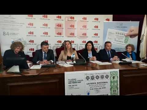 Intervención de Lara Méndez en la presentación del sorteo de la Lotería Nacional contra el cáncer