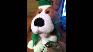 Singing Christmas Dog for Alex
