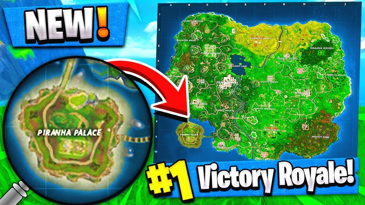 New Piranha Palace Map Location Fortnite Concepts Update
