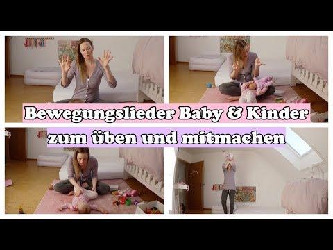 Bewegungslieder Baby & Kind | Singspiele | Pekip Lieder
