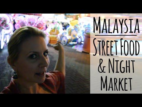 Malaysia NIGHT MARKET | Jonker St. Pasar Malam Melaka