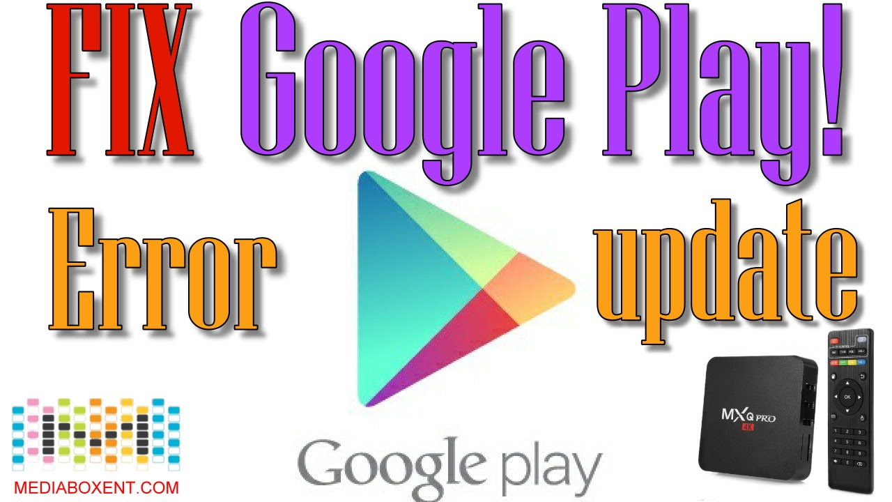 HOW TO FIX GOOGLE PLAY STORE ERROS