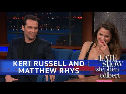 Stephen Colbert vs. Keri Russell & Matthew Rhys Met A Big Fan Named President Obama