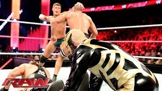 Cody Rhodes & Goldust vs. The Real Americans: Raw, Oct. 28, 2013