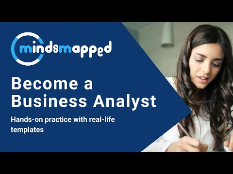 Become a Business Analyst - Hands-on practice with real-life templates