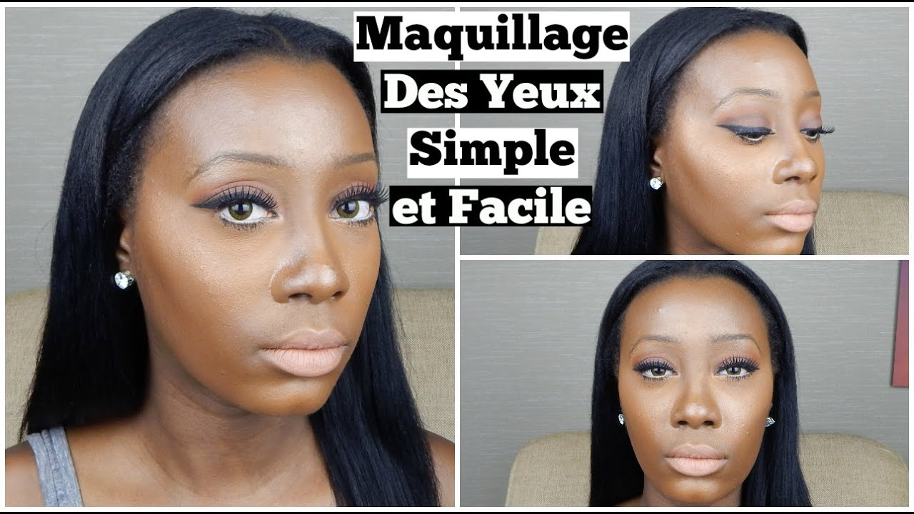 maquillage des yeux simple et facile dydy xoxo youtube. Black Bedroom Furniture Sets. Home Design Ideas
