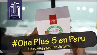 OnePlus 5 en Peru - Primer vistazo al sucesor del Onplus 3T Video