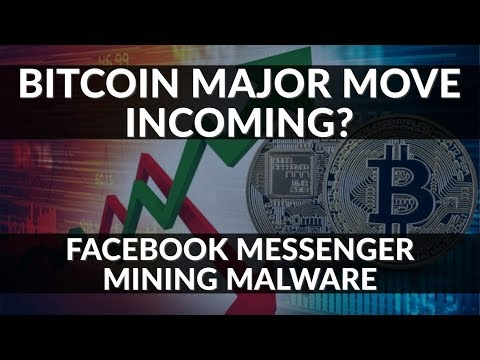 Crypto News | Bitcoin Major Move Incoming? Facebook Messenger Mining Infected Malware