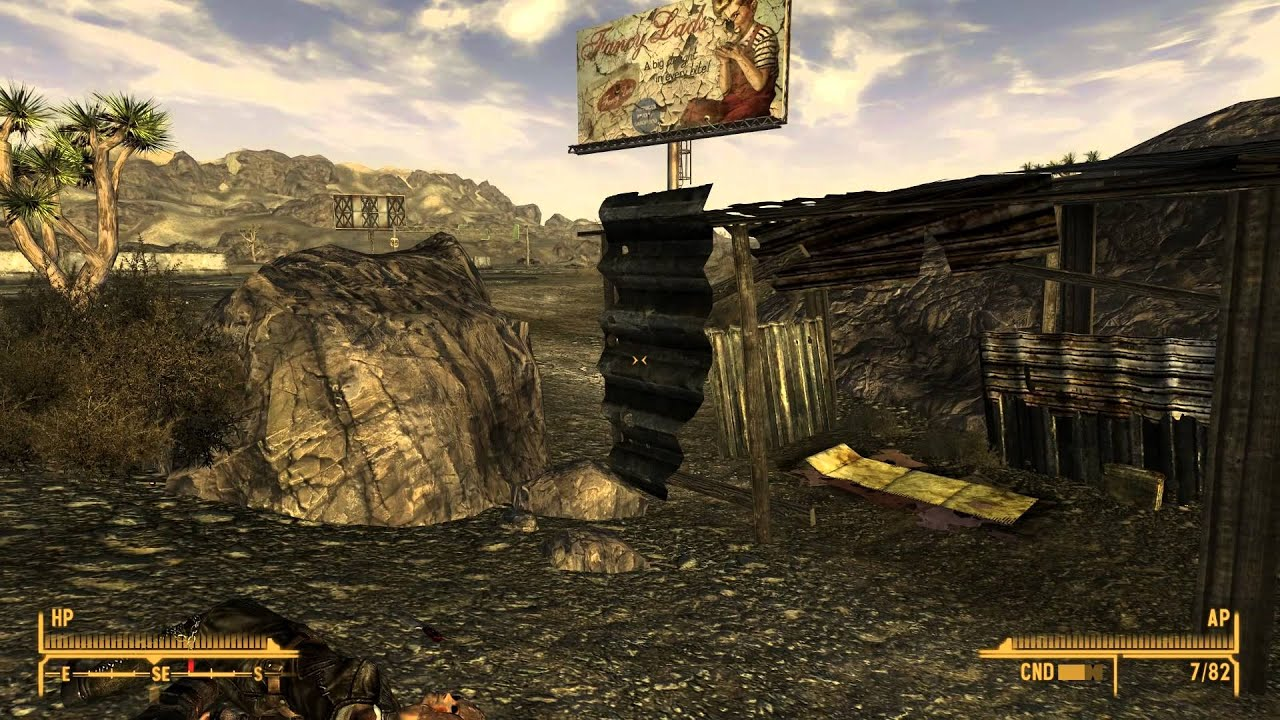 Fallout New Vegas Blind Part 71 To Legion Town Youtube