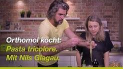 Orthomol kocht: Pasta tricolore. Mit DHDL Investor Nils Glagau