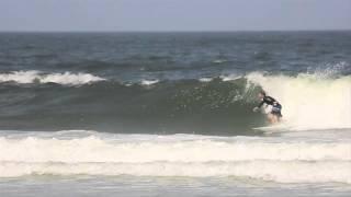 Evan Thompson Surfing In North Florida