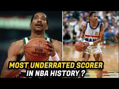 Meet Alex English: The NBA's Top Scorer in the 1980's