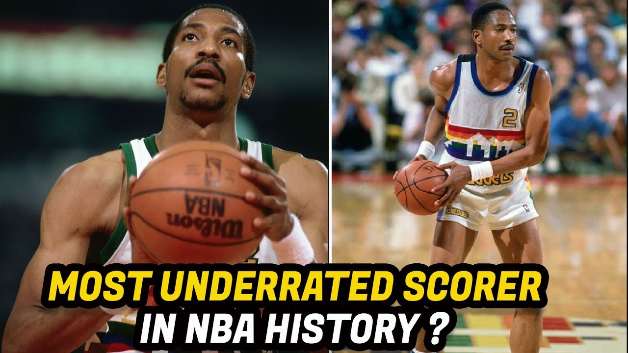 Meet Alex English The NBA s Greatest Scorer in the 1980 s