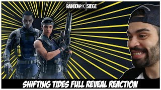 Rainbow Six Siege: Operation Shifting Tides - Full Reveal Trailer Reaction
