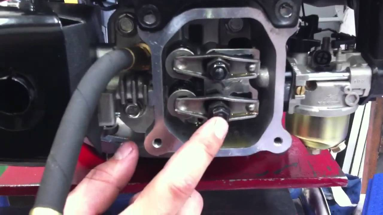 Compression Testing on a Lifan 5 HP Vertical Engine - YouTube