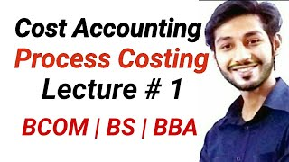Process Costing - FIFO Method, Lect 1