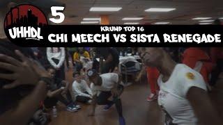 Chi Meech vs Sista Renegade | Krump Top 16 | Underground Hip Hop Dance League #UHHDL