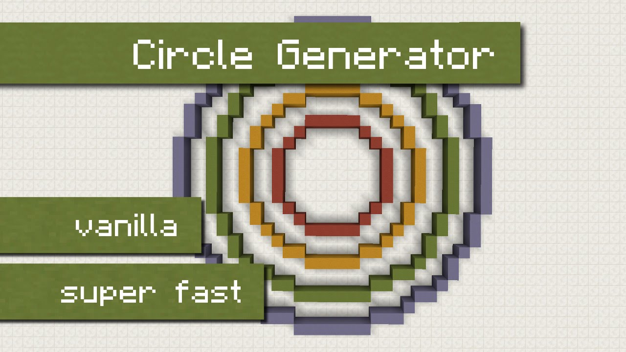 Building Circles In Minecraft