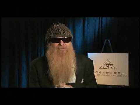 Billy Gibbons talks about the Rock Hall