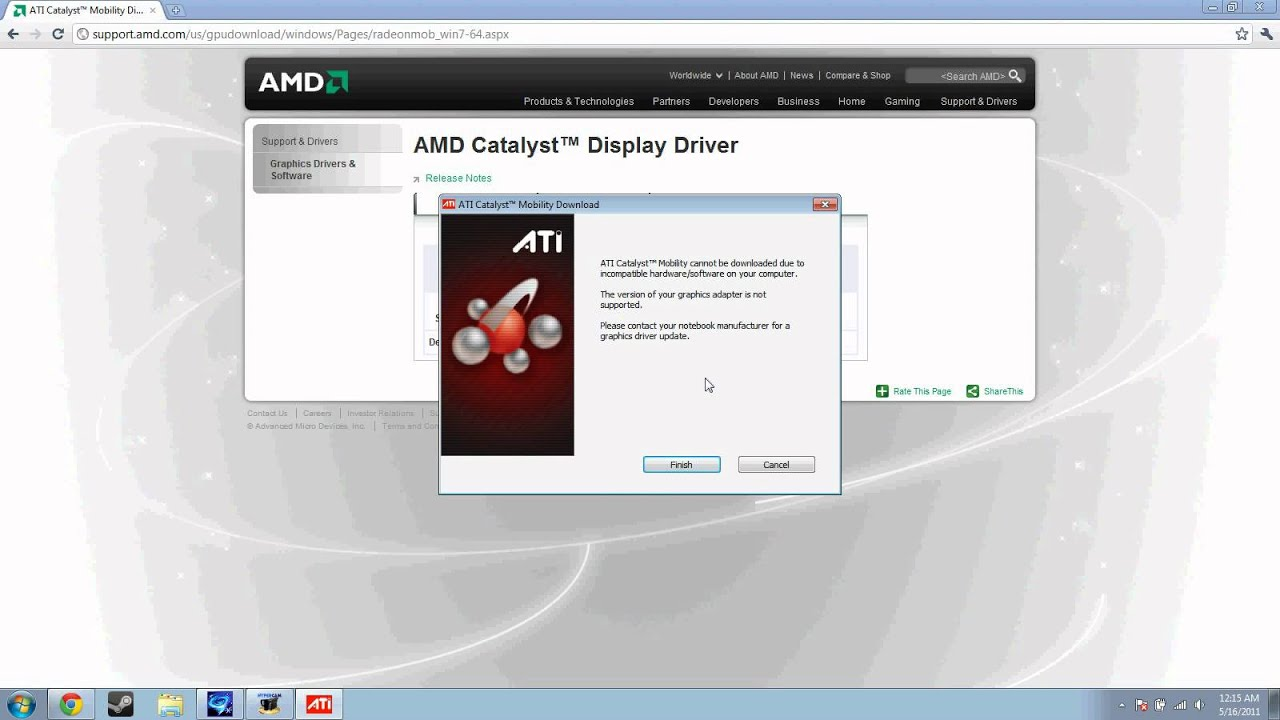 Ati Mobility Radeon Hd 5650 Driver Update Download