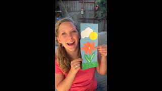 Fun Art Craft with Sign Post Kids! How to make pretty paper trees!