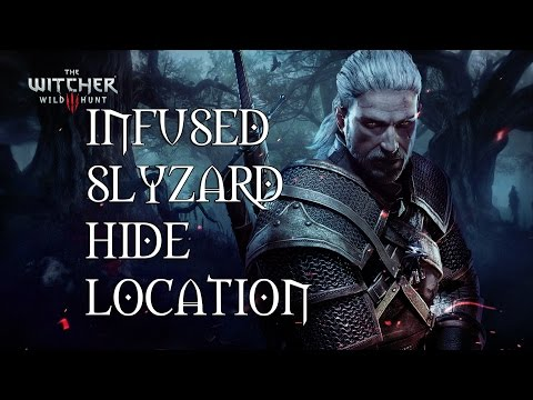 The Witcher 3 Infused Slyzard Hide Location - Plus Enriched Dimeritium Plates