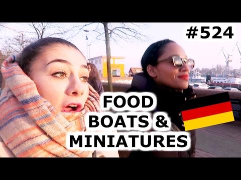 GERMAN FOOD, BOATS MINIATUR WUNDERLAND HAMBURG DAY 524 | TRAVEL VLOG IV