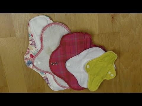 """Meine """"Flop"""" 5 Cloth Pads"""