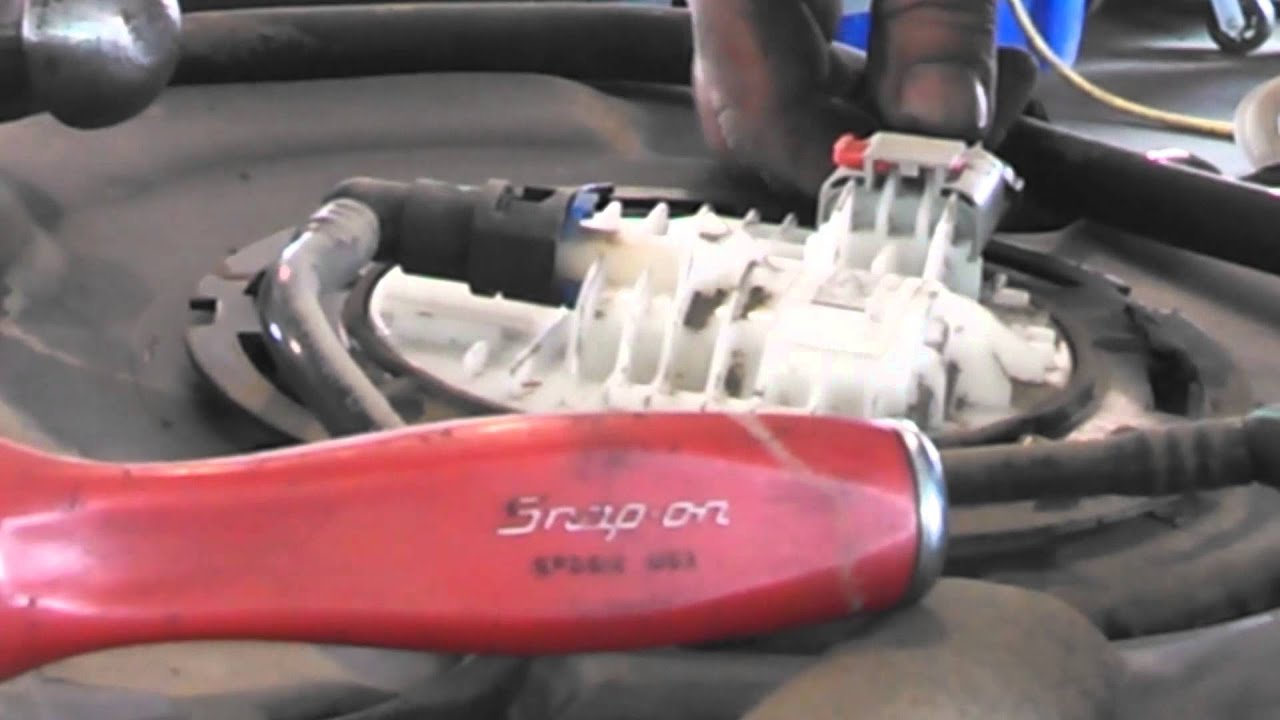 Fuel Pump Replacement 2004 2007 Dodge Caravan Install Remove Mercedes Benz Egr Valve Wiring Diagram Replace How To Youtube