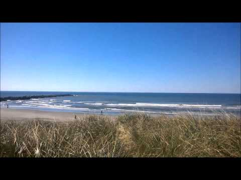 Ocean Shores And The Pacific Ocean