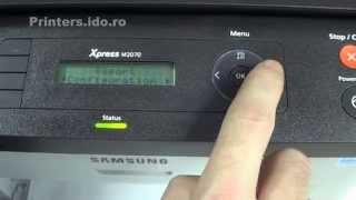 NEW! Samsung Xpress Printers: M2070, M2070F, M2070FW firmware reset
