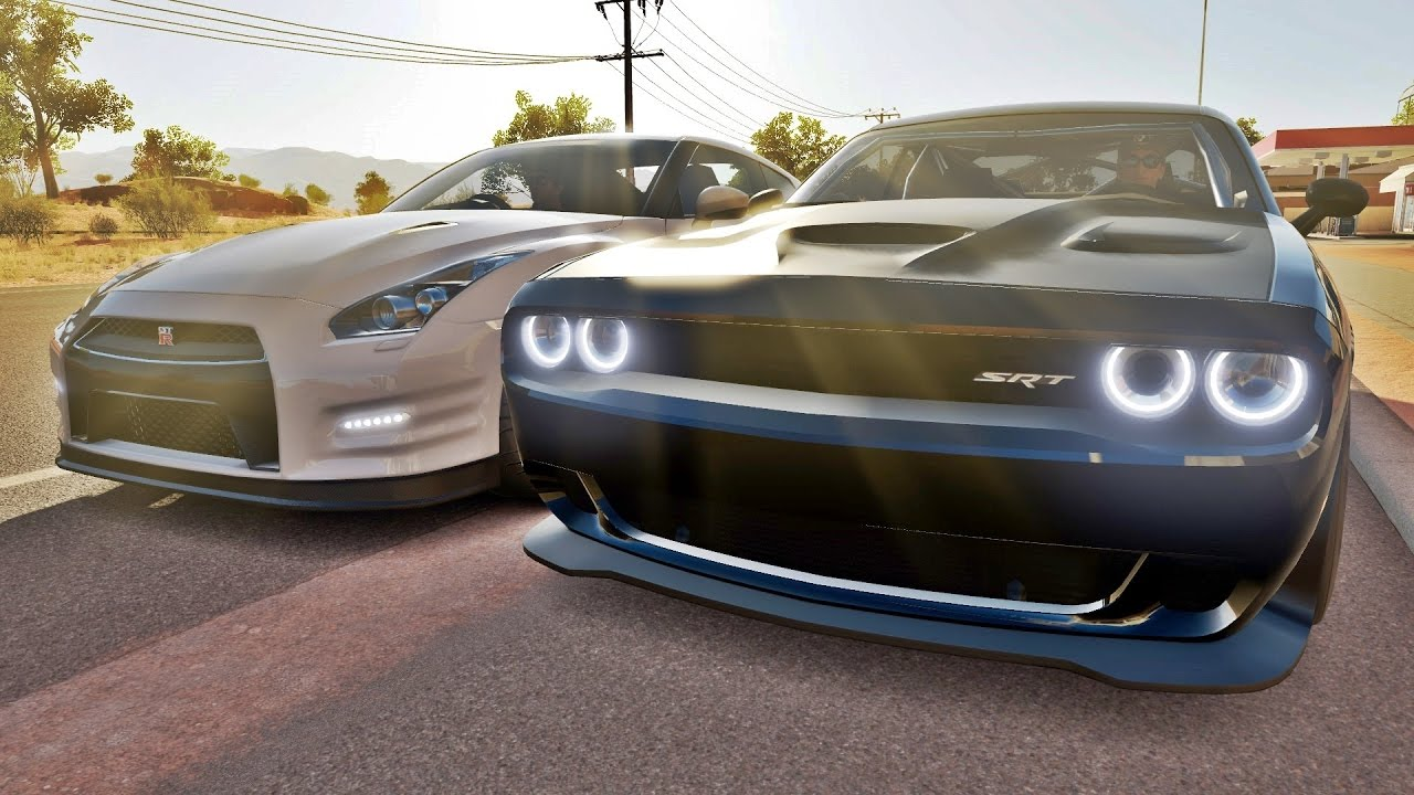 Velozes E Furiosos Forza Horizon 3 Racha Dodge