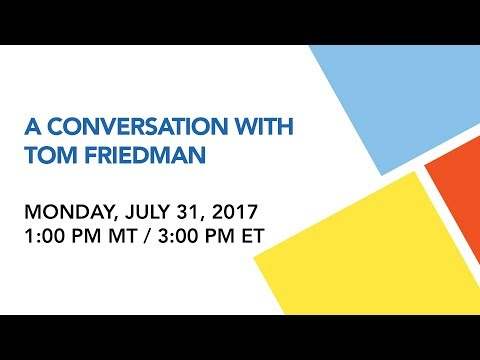 Closing Lunch: In Conversation with Tom Friedman